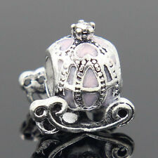 New European Silver Charm Bead Fit sterling 925 Necklace Bracelet Chain US Pq7