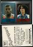Carl Lewis (USA) Panini Athletics CARD 1986!! n.101 MINT!! w/ Sara Simeoni