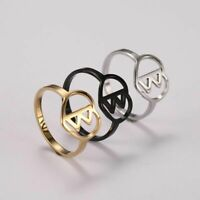 Women Viking Rune Ring Men Punk Biker Amulet Rings Lady Stainless Steel Jewelry