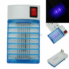 Led Socket Electric Mosquito Fly Bug Insect Trap Night Lamp Killer Zapper New