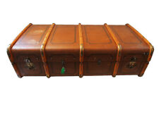 Toller Übersee Koffer; Reisetruhe, Kiste; um 1900