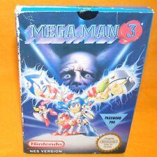 VINTAGE 1991 NINTENDO ENTERTAINMENT SYSTEM NES MEGA MAN 3 VIDEO GAME BOXED