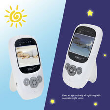 """SUNLUXY 2,4"""" TFT LCD Couleur Ecoute Bébé Babyphone Baby Phone"""