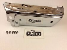 Ford F-250 F-350 w/ Reverse Sensors Right Rear Passenger Side Bumper Half Chrome