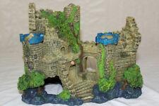 New listing Blue Ribbon Exotic Environments Castle Ruin Aquarium Ornament Decoration Cave