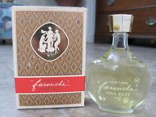 NEW VINTAGE NINA RICCI FAROUCHE Eau De Toilette 1.7 Oz. France Lalique bottle