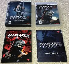 NINJA GAIDEN SIGMA 2: COLLECTOR'S EDITION limited bundle ps3 *COMPLETE IN BOX*