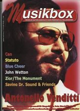 MUSIKBOX N°1 (44/45)  2001 CAN STATUTO  JOHN WETTON BLUE CHEER VENDITTI ZIOR
