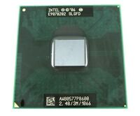 Intel Core 2 Duo CPU 2.4 GHz / 3M / 1066 Mhz P8600 Mobile Processor SLGFD