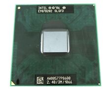 Intel Core 2 Duo CPU 2.4 GHz / 3M / 1066 Mhz P8600 Mobile Processor SLGFD