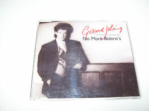 GERARD JOLING - NO MORE BOLERO'S * 4 TRACK CD MAXI HOLLAND 1989 *