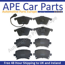 VW Passat 3.2 2005-2009 Front & Rear Brake Pads Set NEW