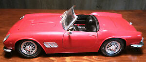Polistil Red Ferrari Convertible Sports Car Die-cast Made in Italy 1:16 MO240559
