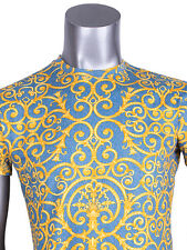 AUTH Versace Barroco Print T-shirt Sz IT 50 US 40  Chaos Couture Collection