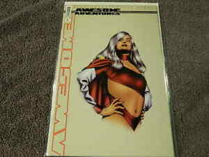 1999 Comic ALAN MOORE'S AWESOME ADVENTURES #1 DYNAMIC FORCES Variant 1427/4000