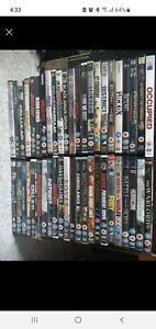 Joblot Bundle Of war types dvds