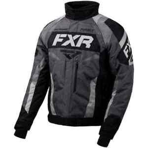 FXR Racing F20 Octane Mens Sled Winter Sport Snowmobile Jacket