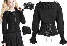 Pull haut gothique lolita burlesque victorien corset volants laçages Punkrave