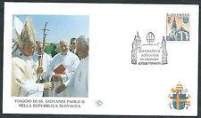 1995 VATICANO VIAGGI DEL PAPA SLOVACCHIA TRNAVA - SV8
