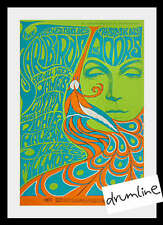 Doors And Yardbirds Early Concent Poster Fillmore 5Th Printing Mint Maclean 1967
