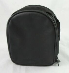 Bose Quiet Comfort QC1 Headphone Carrying Leather Case with Strap - Black