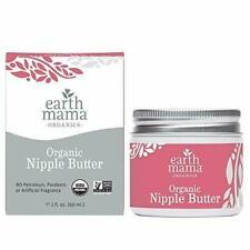 Earth Mama Angel Baby 2oz Breast Feeding Natural Nipple Butter 2 OZ