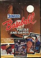 1987 DONRUSS Baseball Wax Box 36 Packs Bo JACKSON, Greg MADDUX RC Barry BONDS RC
