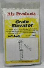 HO Scale RIX Products #628-407 GRAIN ELEVATOR KIT - NOS - Unopened