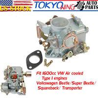 For VW Volkswagen Beetle 71-79 1600cc Dual port Engine 34 PICT-3 Carburetor Carb