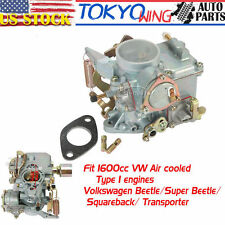 For VW Volkswagen Beetle Thing 1600cc Dual Port Type 1 Engine Carburetor Carb US
