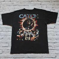 Vintage 90s Bob Marley Catch a Fire Tshirt Size 2XL XXL Reggae