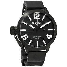 U-Boat Classico Black Dial Automatic Mens Watch 1024