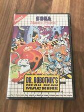 Master System:     DR ROBOTNIK'S MEAN BEAN MACHINE     en boite      PAL EUR
