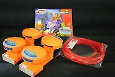 KNEX RIPPIN ROCKET ROLLER COSTER TUBBING MANUAL & TURBOR BOOSTER MOTOR