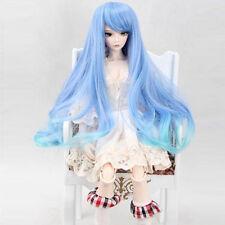 [wamami] 97# Blue Colorful Wig/Hair for 1/3 MSD DOD AOD LUTS BJD Dollfie 7-8''