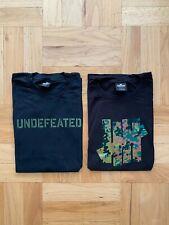 Bundle Undefeated Stencil Swiss Camo Shirt Sz Large Tech Undftd Bape ASSC