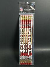 NFL San Francisco 49ers #2 Pencils 6 Pk