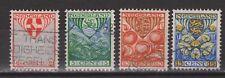 NVPH Netherlands Nederland 199 200 201 202 gest used 1926 kinderzegels Pays Bas