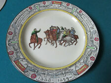 Royal Doulton Antique Collector Plate Chaucer'S Canterbury Pilgrims
