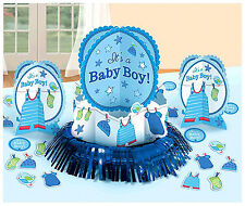 Shower with Love Baby Boy Shower Table Decorating Kit Party Supplies Favor~ 23pc