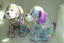 WEBKINZ SET OF 2- PEACE OUT PUPPY + PEACE N LOVE PUPPY- NEW W/ SEALED CODE
