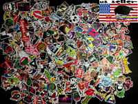 200 New Random Skateboard Stickers bomb Laptop Luggage Decals Dope Sticker Lot