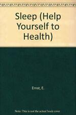 Sleep (Help Yourself to Health)-E. Ernst