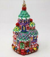 Vintage Candyland Corner Castle Christopher Radko Christmas Ornament Gingerbread