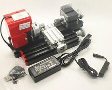 Mini lathe machine diy outil métal matériel machine/bois tour Modelmaking