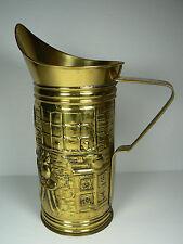 """Vintage Repousse Brass Tankard Beer Stein Beerstein Mug Peerage England 8.75"""""""