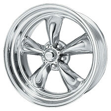 15X7 AMERICAN RACING TORQ THRUST II 2 POLISHED ALUMINUM WHEEL 5X4.5 VN5155765