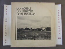 "JAH WOBBLE (PIL) JAKI LIEBEZEIT HOLGER CZUKAY (CAN) HOW MUCH ARE THEY 12"" SINGLE"