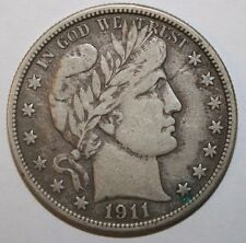 1911 Barber Silver Half Dollar L21