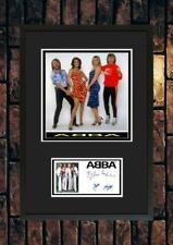 More details for (#249)  abba 80s pop group signed a4 photograph framed unframed reprint ++++++++